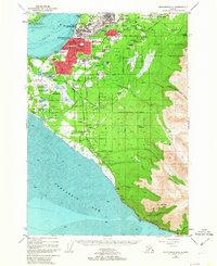 Topo map Anchorage A-8 Alaska