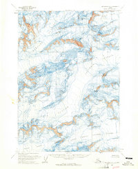Topo map Anchorage B-1 Alaska