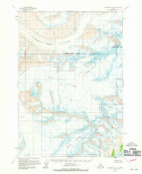 Topo map Anchorage B-3 Alaska