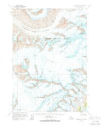 Topo map Anchorage B-3 Alaska