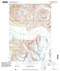 Topo map Anchorage B-4 Alaska