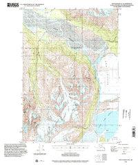 Topo map Anchorage B-5 Alaska