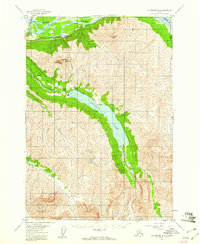Topo map Anchorage B-6 Alaska