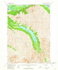 Topo map Anchorage B-6 Alaska
