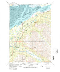 Topo map Anchorage B-7 Alaska