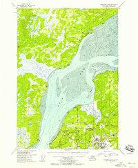 Topo map Anchorage B-8 Alaska