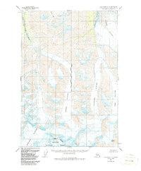 Topo map Anchorage C-1 Alaska