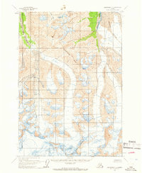 Topo map Anchorage C-1 Alaska