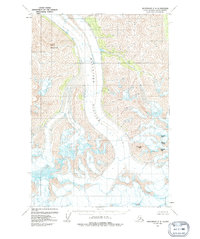 Topo map Anchorage C-2 Alaska