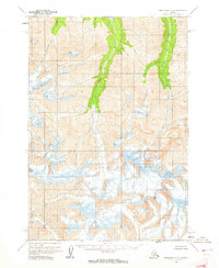 Topo map Anchorage C-3 Alaska