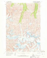 Topo map Anchorage C-3 Alaska