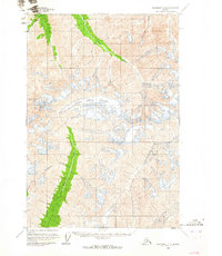 Topo map Anchorage C-4 Alaska
