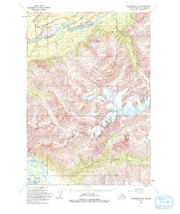 Topo map Anchorage C-5 Alaska