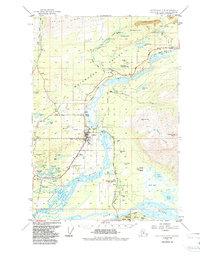 Topo map Anchorage C-6 Alaska