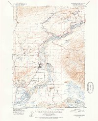 Topo map Anchorage C-6 Alaska