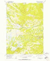 Topo map Anchorage C-8 Alaska