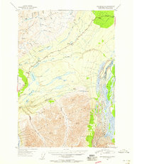 Topo map Anchorage D-1 Alaska
