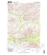 Topo map Anchorage D-2 Alaska