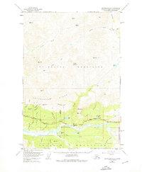 Topo map Anchorage D-3 Alaska