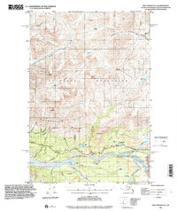 Topo map Anchorage D-3 Alaska