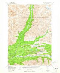 Topo map Anchorage D-4 Alaska