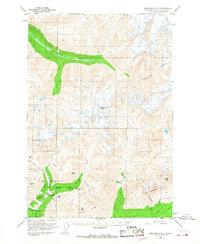 Topo map Anchorage D-6 Alaska