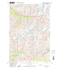 Topo map Anchorage D-6 Alaska