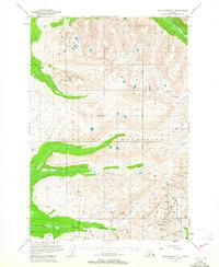 Topo map Anchorage D-7 Alaska