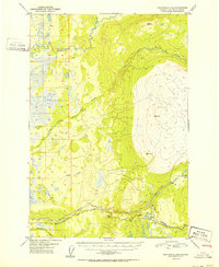 Topo map Anchorage D-8 Alaska
