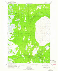 Topo map Anchorage D-8 Alaska