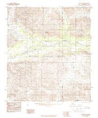 Topo map Arctic B-4 Alaska