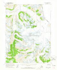 Topo map Atlin A-8 Alaska