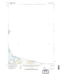 Topo map Atlin B-8 Alaska