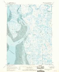 Topo map Baird Inlet A-1 Alaska