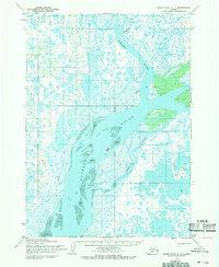 Topo map Baird Inlet C-1 Alaska