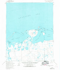 Topo map Barter Island A-5 Alaska
