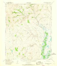 Topo map Bendeleben B-6 Alaska