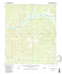 Topo map Big Delta D-5 Alaska