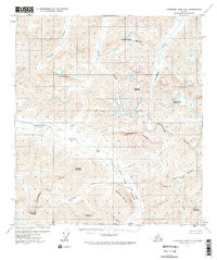 Topo map Chandler Lake A-2 Alaska