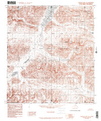 Topo map Chandler Lake A-5 Alaska