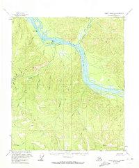 Topo map Charley River A-2 Alaska