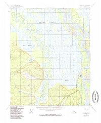 Topo map Circle D-1 Alaska