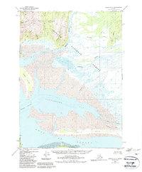 Topo map Cordova A-1 Alaska