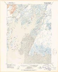 Topo map Cordova B-3 Alaska
