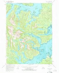 Topo map Craig A-1 Alaska