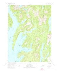 Topo map Craig A-2 Alaska