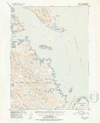 Topo map Craig B-1 Alaska