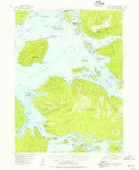 Topo map Craig B-4 Alaska