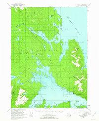 Topo map Craig C-2 Alaska