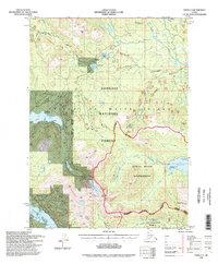 Topo map Craig C-3 Alaska